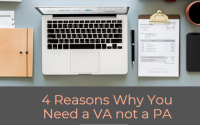 4 Reasons Why You Need a Virtual Assistant not a Personal Assistant